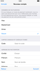 Apple iPhone 6 Plus iOS 8 - Applications - Configuration de votre store d