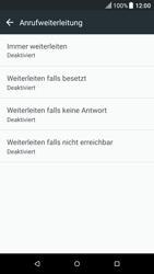 HTC One A9 - Android Nougat - Anrufe - Rufumleitungen setzen und löschen - Schritt 6