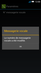 Alcatel OT-7041X Pop C7 - Messagerie vocale - configuration manuelle - Étape 11