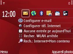 Nokia E63 - E-mail - Configuration manuelle - Étape 1