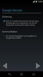Sony Xperia Z1 Compact - Apps - Konto anlegen und einrichten - 14 / 22