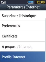 Samsung B3410 Star Qwerty - Internet - Configuration manuelle - Étape 6
