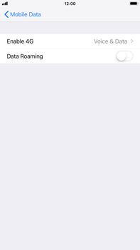 Apple iPhone 8 Plus - iOS 12 - Internet - Disable data roaming - Step 6