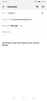 Huawei P30 - E-mail - e-mail versturen - Stap 7