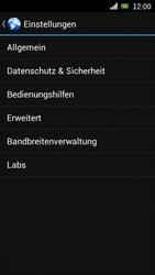 Sony Ericsson Xperia Ray mit OS 4 ICS - Internet - Manuelle Konfiguration - Schritt 19