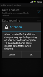 Sony Xperia J - Internet and data roaming - Manual configuration - Step 7