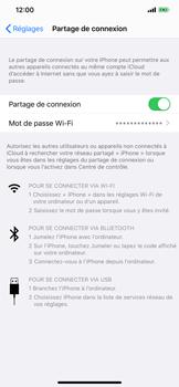 Apple iPhone 11 - Internet et connexion - Utiliser le mode modem par USB - Étape 8