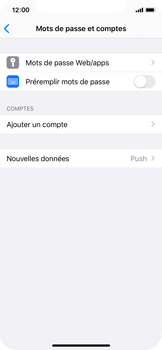 Apple iPhone X - iOS 13 - E-mail - configuration manuelle - Étape 4