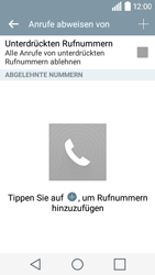 LG Leon - Anrufe - Anrufe blockieren - Schritt 7