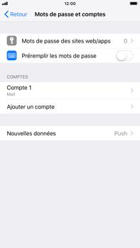 Apple iPhone 8 Plus - iOS 12 - E-mail - Configuration manuelle - Étape 25