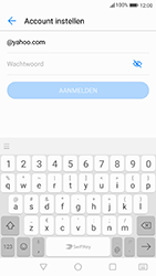 Huawei P10 - Android Oreo - E-mail - Handmatig instellen (yahoo) - Stap 6