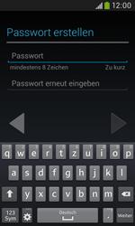 Samsung Galaxy Trend Plus - Apps - Konto anlegen und einrichten - 11 / 28