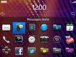 BlackBerry 9360 Curve - SMS - Configuration manuelle - Étape 3