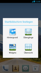 Huawei Ascend G526 - Startanleitung - Installieren von Widgets und Apps auf der Startseite - Schritt 4