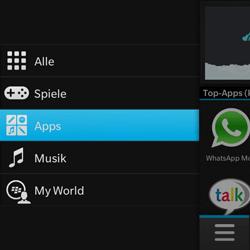 BlackBerry Q10 - Apps - Herunterladen - 1 / 1