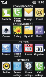 LG GD510 Pop - E-mail - Sending emails - Step 3