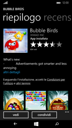 Microsoft Lumia 535 - Applicazioni - Configurazione del negozio applicazioni - Fase 25