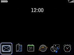 BlackBerry 8520 Curve - MMS - Configuration automatique - Étape 1