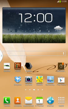 Samsung N5100 Galaxy Note 8-0 - MMS - Automatische Konfiguration - Schritt 1
