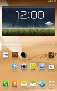 Samsung N5100 Galaxy Note 8-0 - WLAN - Manuelle Konfiguration - Schritt 1