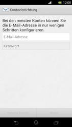 Sony Xperia T - E-Mail - Manuelle Konfiguration - Schritt 5
