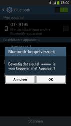 Samsung I9195 Galaxy S IV Mini LTE - Bluetooth - koppelen met ander apparaat - Stap 9