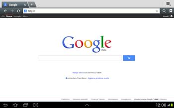 Samsung Galaxy Tab 2 10.1 - Internet e roaming dati - Uso di Internet - Fase 6