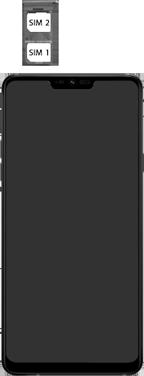 LG g7-fit-dual-sim-lm-q850emw-android-pie - Instellingen aanpassen - SIM-Kaart plaatsen - Stap 5