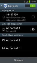 Samsung S7390 Galaxy Trend Lite - Bluetooth - Headset, carkit verbinding - Stap 8