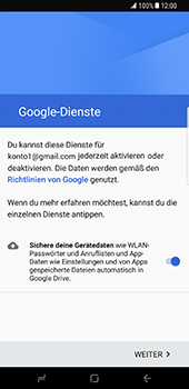 Samsung Galaxy S8 Plus - E-Mail - Konto einrichten (gmail) - 14 / 18
