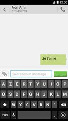 Bouygues Telecom Ultym 5 - Contact, Appels, SMS/MMS - Envoyer un SMS - Étape 9