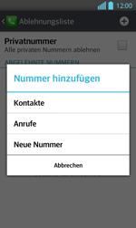 LG P710 Optimus L7 II - Anrufe - Anrufe blockieren - Schritt 8