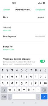Oppo Reno 4Z - Internet et connexion - Partager votre connexion en Wi-Fi - Étape 9