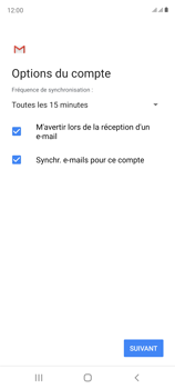 Samsung Galaxy S20 FE - E-mails - Ajouter ou modifier un compte e-mail - Étape 20