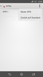 Sony E2003 Xperia E4G - MMS - Manuelle Konfiguration - Schritt 8