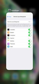 Apple iPhone XS Max - apps - apps afsluiten - stap 10