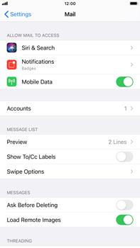 Apple iPhone 8 Plus - iOS 14 - E-mail - manual configuration - Step 15