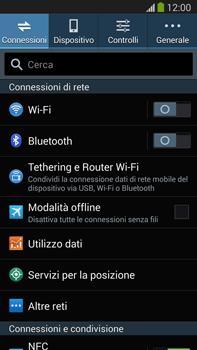 Samsung Galaxy Note III LTE - Internet e roaming dati - Come verificare se la connessione dati è abilitata - Fase 4