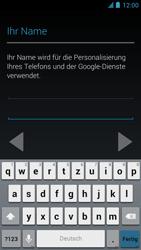 Alcatel One Touch Idol - Apps - Einrichten des App Stores - Schritt 6