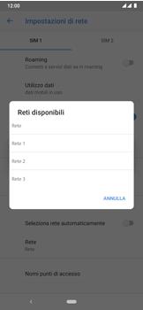 Nokia 7.2 - Rete - Selezione manuale della rete - Fase 11