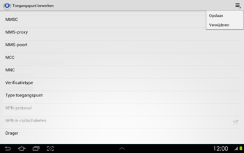 Samsung P5100 Galaxy Tab 2 10-1 - MMS - handmatig instellen - Stap 13