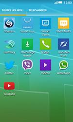 Alcatel Pop S3 (OT-5050X) - Messagerie vocale - configuration manuelle - Étape 4