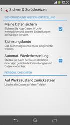 Sony Xperia M2 - Fehlerbehebung - Handy zurücksetzen - 0 / 0
