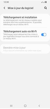 Samsung Galaxy A40 - Aller plus loin - Mettre à jour le logiciel interne de votre mobile - Étape 6
