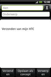 HTC A6363 Legend - e-mail - hoe te versturen - stap 6