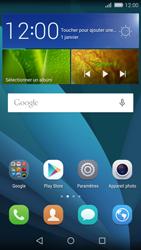 Huawei Carfi - Aller plus loin - Restaurer les paramètres d'usines - Étape 1