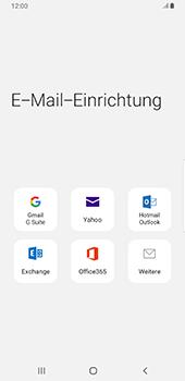 Samsung Galaxy S9 Plus - Android Pie - E-Mail - Konto einrichten - Schritt 6