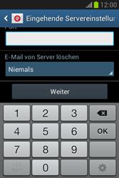 Samsung Galaxy Fame Lite - E-Mail - Manuelle Konfiguration - Schritt 11