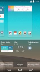 LG G3 - Startanleitung - Installieren von Widgets und Apps auf der Startseite - Schritt 5