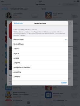 Apple iPad Air 2 - Apps - Konto anlegen und einrichten - 19 / 35
